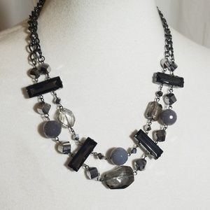 Beaded and Stone Necklace